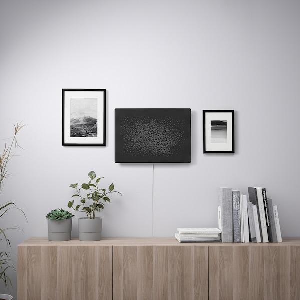 SYMFONISK Picture frame with WiFi speaker, black