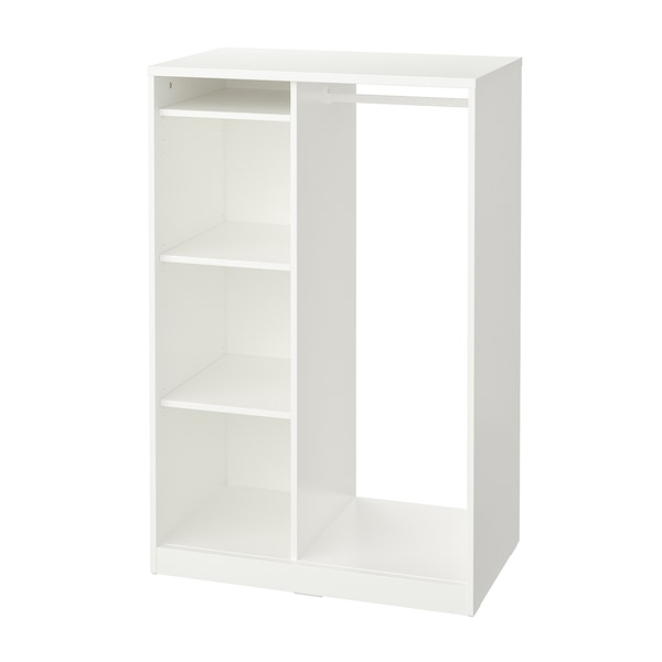 SYVDE white, Open wardrobe IKEA