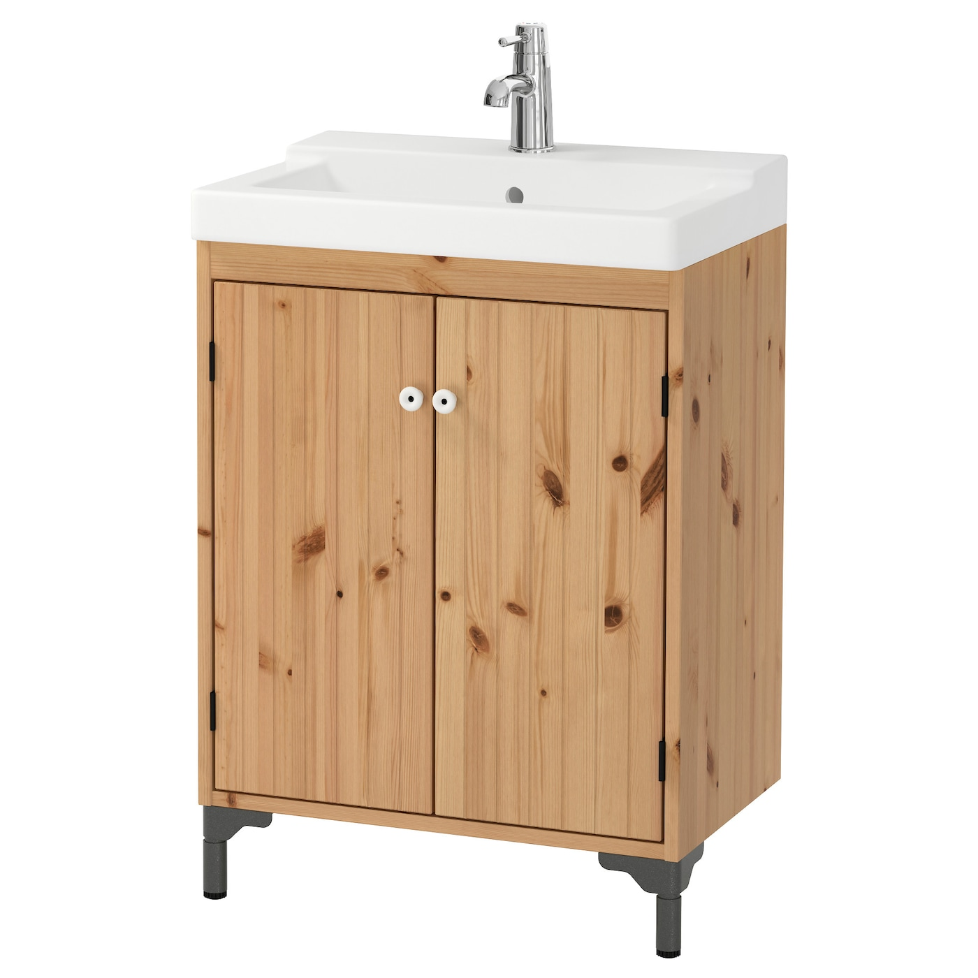 IKEA TÄLLEVIKEN/SILVERÅN wash-basin cabinet with 2 doors A good solution if you are short of space.