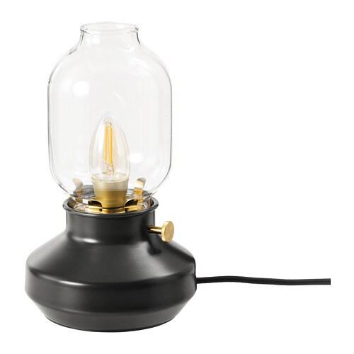 Tärnaby Table Lamp Black Ikea