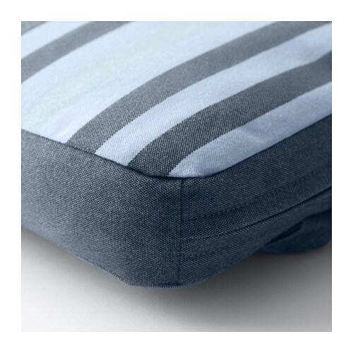 T singe bench cushion outdoor blue 184x35 cm ikea for Cuscino per panca ikea