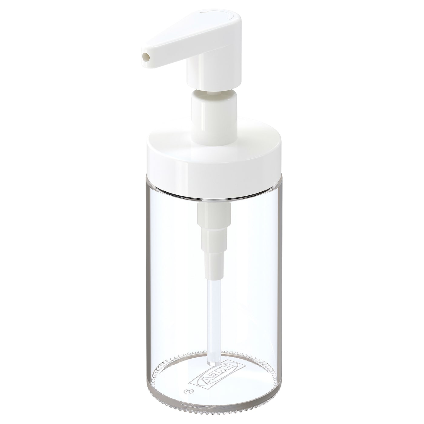 IKEA TACKAN soap dispenser Easy to refill as the dispenser has a wide opening.