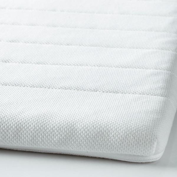 TALGJE Mattress topper, white, Standard Single
