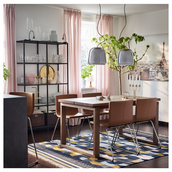 TÅRBÄK rug, flatwoven handmade/multicolour 240 cm 170 cm 4 mm 4.08 m² 1400 g/m²