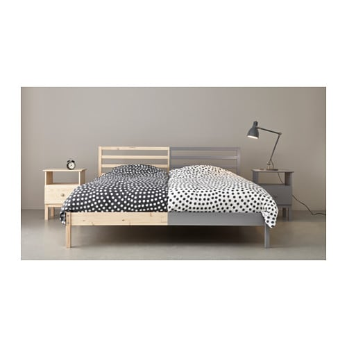 Tarva Bed Frame Pine Luroy Standard Double Ikea