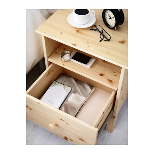Ikea Etagere Murale Zig Zag ~ IKEA TARVA bedside table Made of solid wood, which is a hardwearing