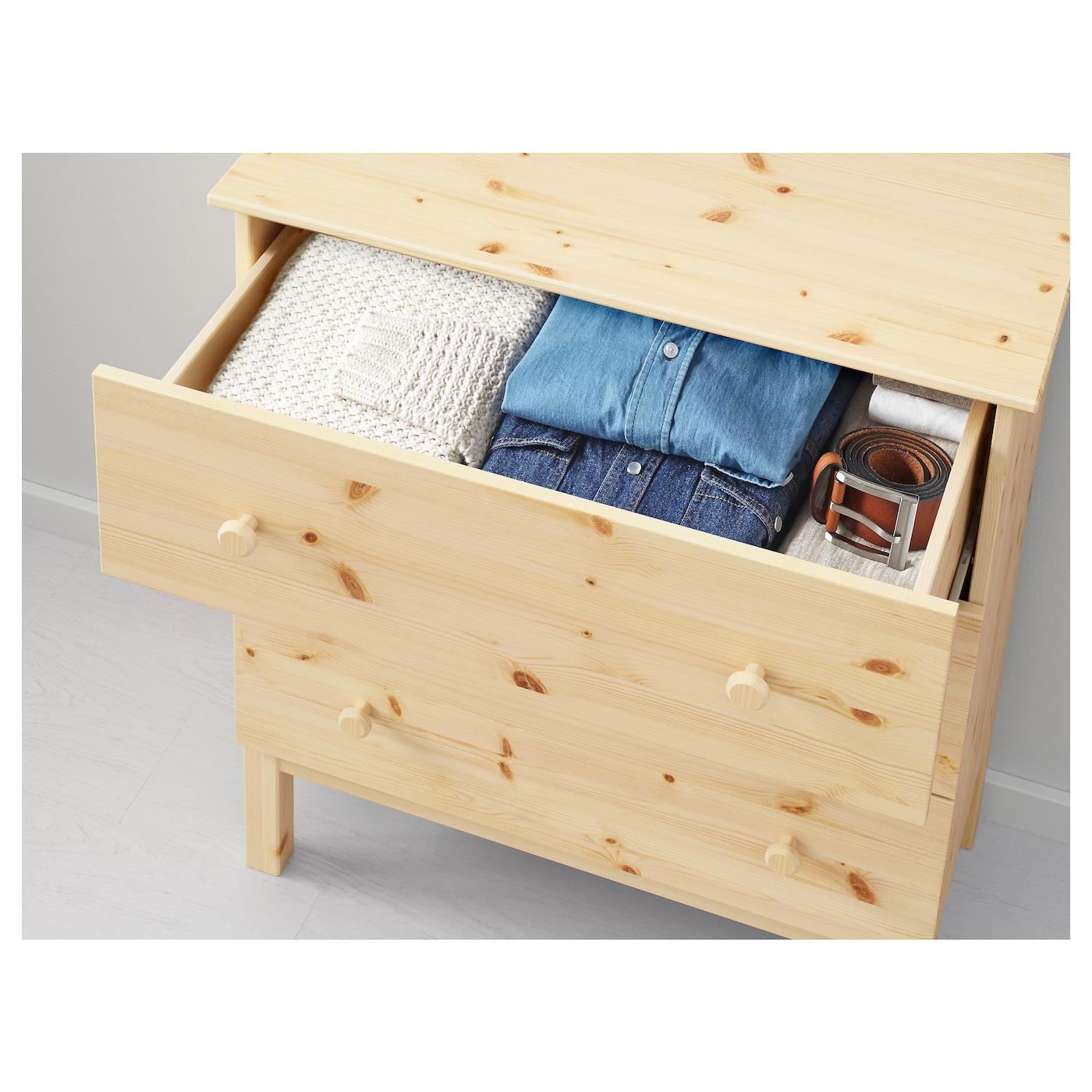 Tarva Chest Of 3 Drawers Pine 79 X 92 Cm Ikea