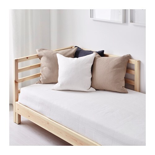 Tarva day bed frame pine 80x200 cm ikea for Ikea day bed