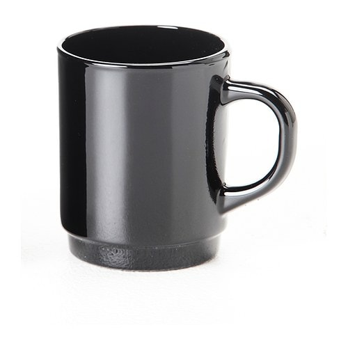 TECKEN Mug IKEA Made of tempered glass, which makes the mug durable and extra resistant to impact.