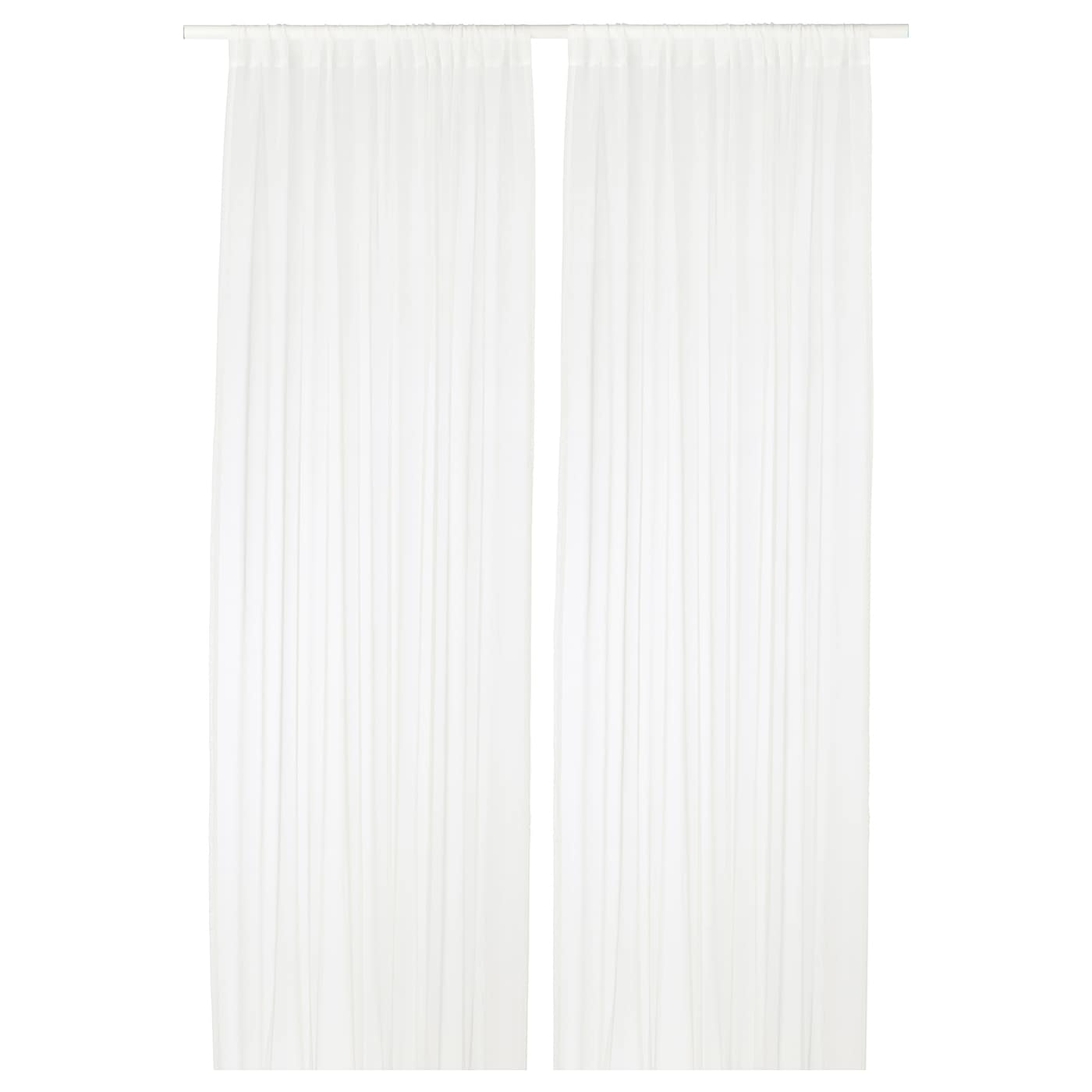 Ikea Teresia Sheer Curtains 1 Pair
