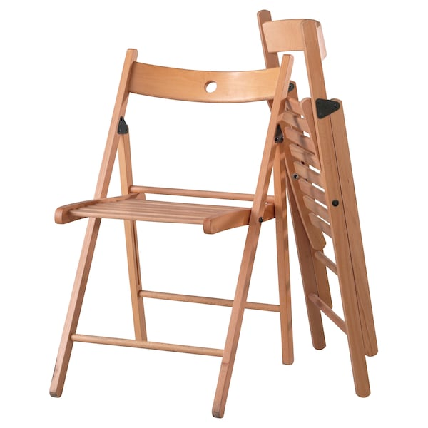 TERJE beech, Folding chair IKEA