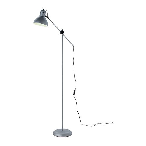 TERTIAL Floor/reading lamp IKEA Easy to move and can therefore be used as either a floor or reading lamp by the sofa or a desk.