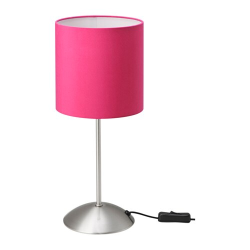 Table lamps bedside lamps ikea for Bedside table lamp shades