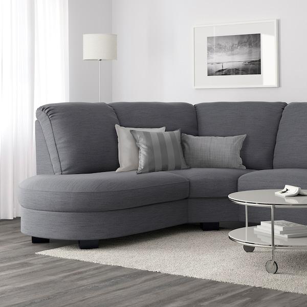 Tidafors Hensta Grey Corner Sofa With