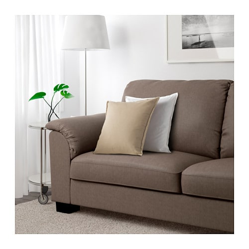 ikea tidafors three seat sofa the high back gives good support for. Black Bedroom Furniture Sets. Home Design Ideas