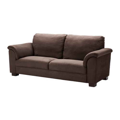 TIDAFORS Three-seat sofa IKEA High back; provides soft and comfortable support for the neck and head.