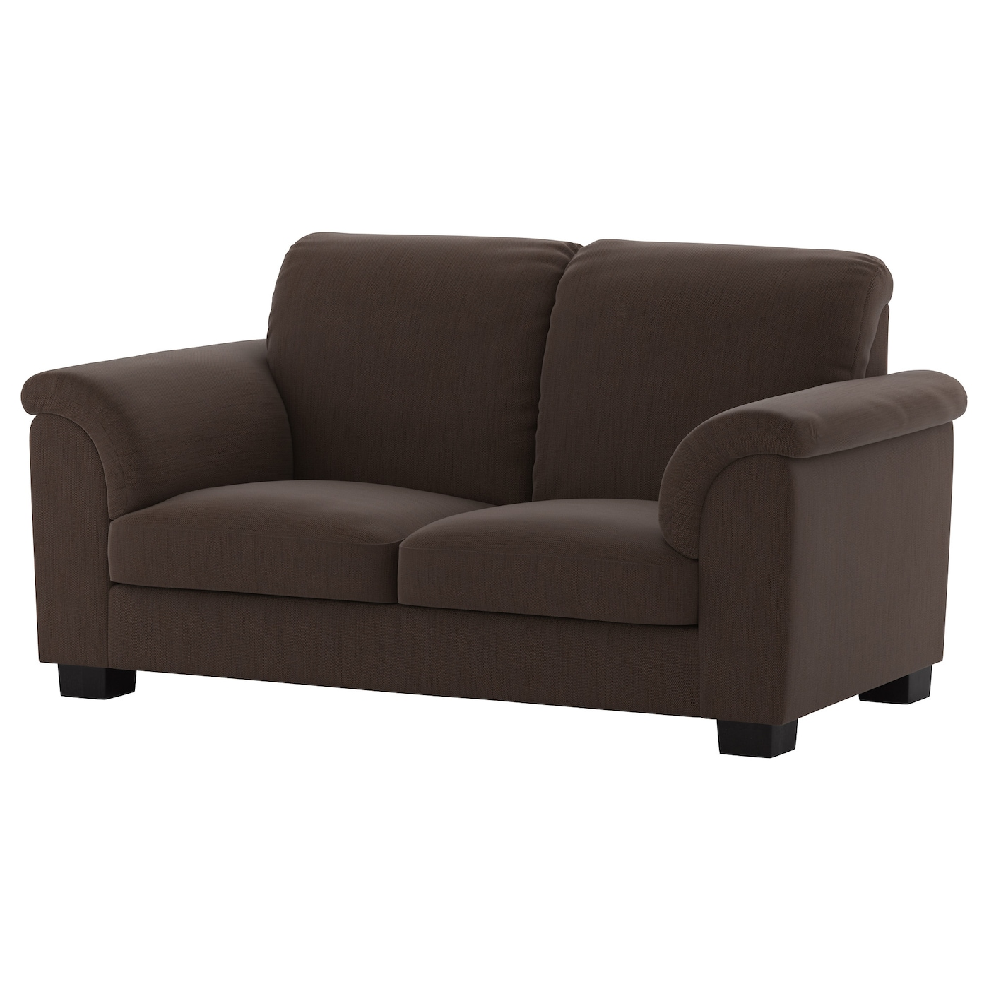 tidafors two seat sofa hensta dark brown ikea. Black Bedroom Furniture Sets. Home Design Ideas