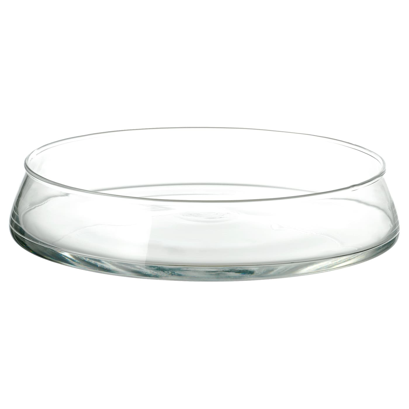 IKEA TIDVATTEN bowl The glass bowl is mouth blown by a skilled craftsperson.