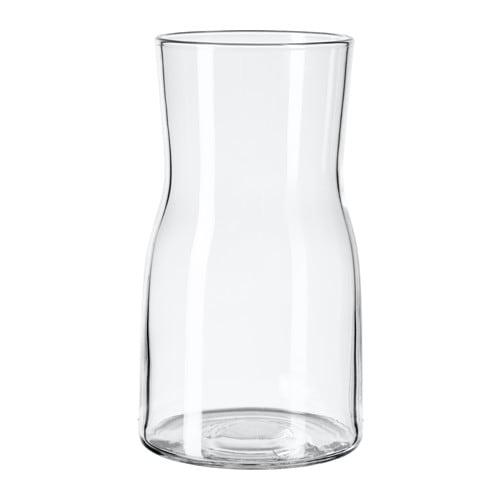 Tidvatten Vase Clear Glass 18 Cm Ikea