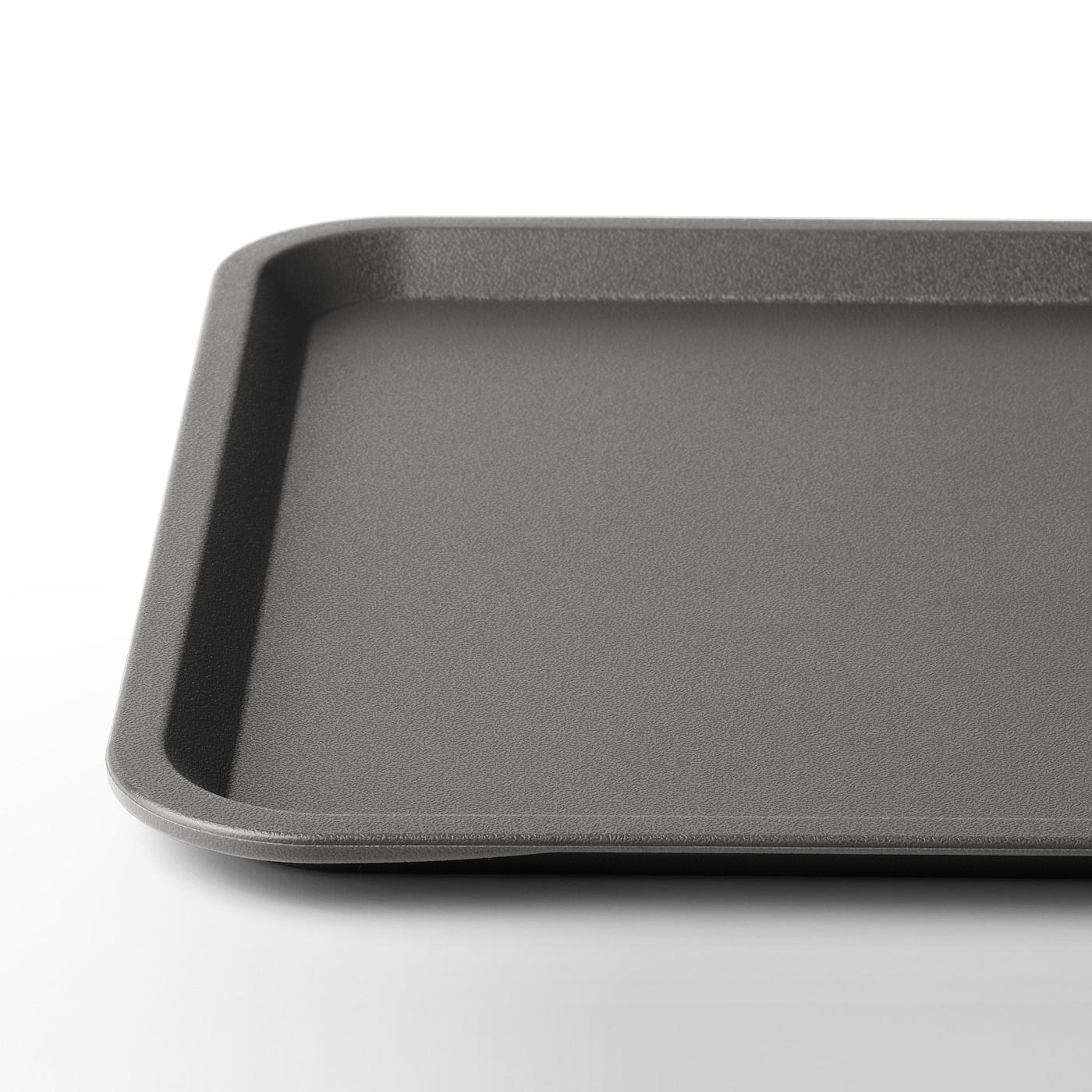 TILLGÅNG Tray, grey, 37x29 cm