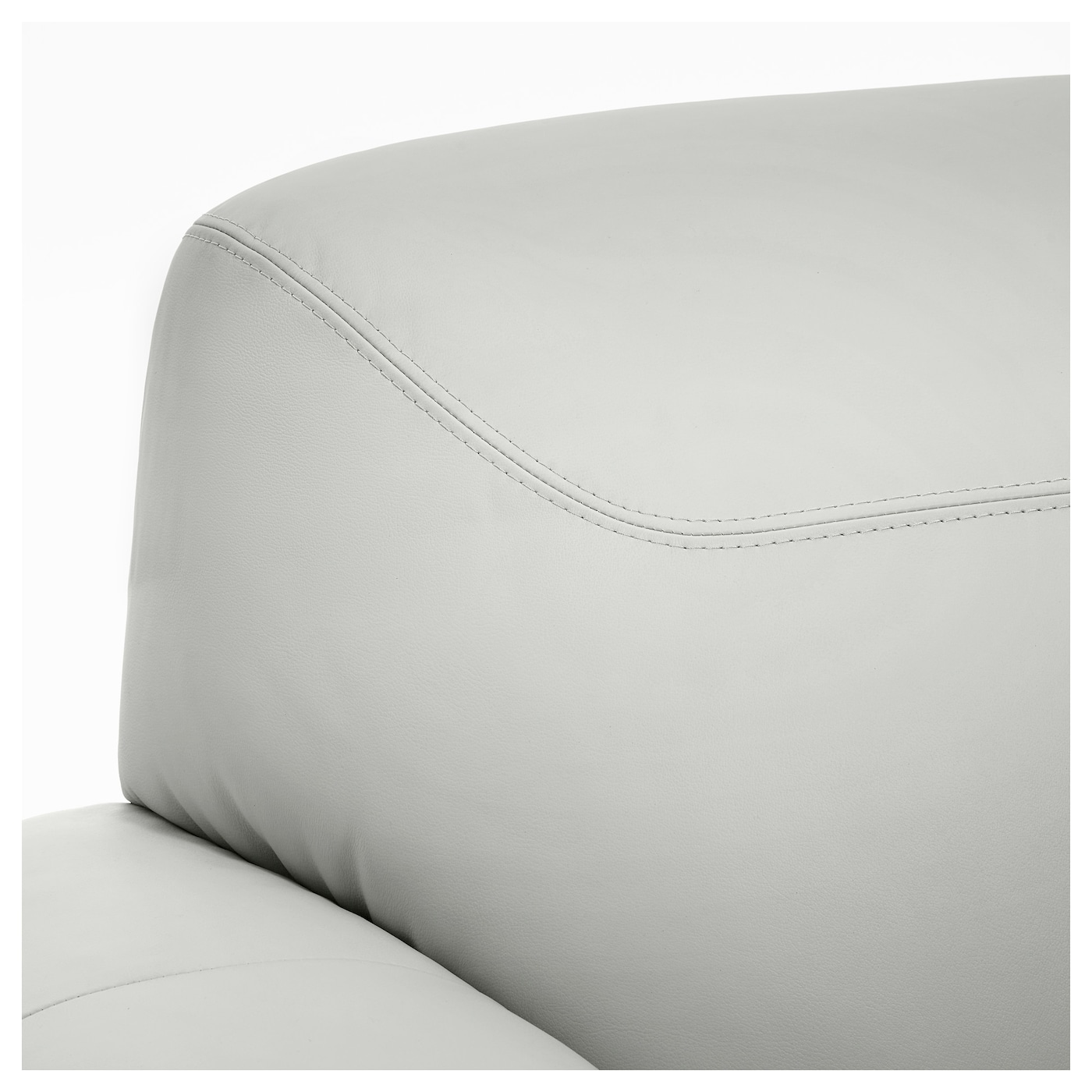 Ikea white leather sofa - Ikea Timsfors Three Seat Sofa The Armrests With Extra Padding Are Comfortable To Lean Against