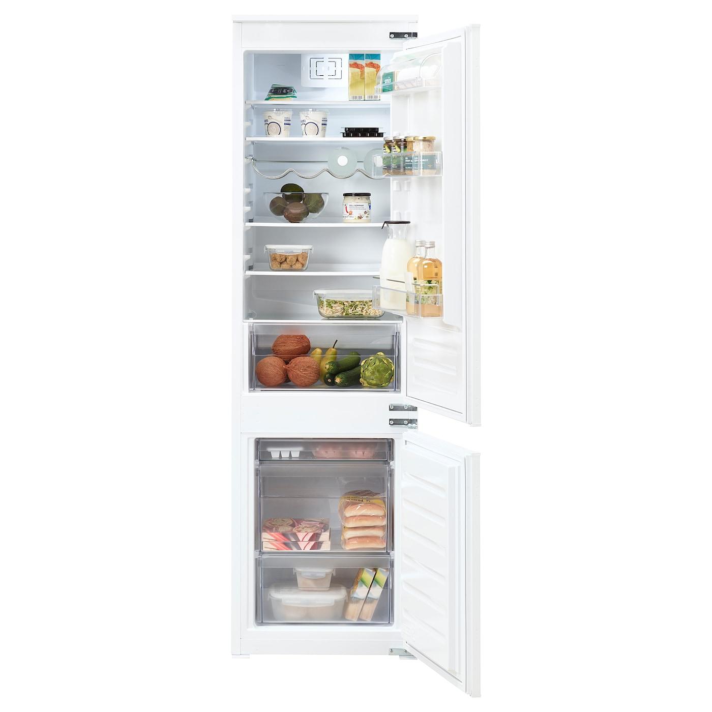 tinad integrated fridge freezer a white 210 79 l ikea. Black Bedroom Furniture Sets. Home Design Ideas