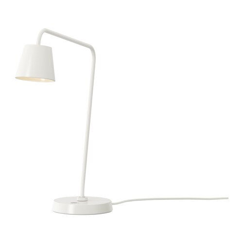 TISDAG LED work lamp IKEA Uses LEDs, which consume up to 85% less energy and last 20 times longer than incandescent bulbs.