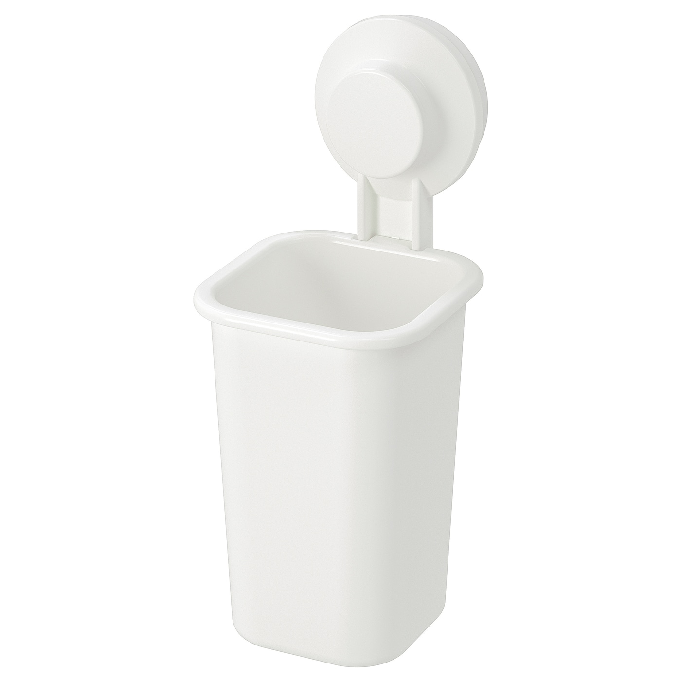 TISKEN white, Toothbrush holder with