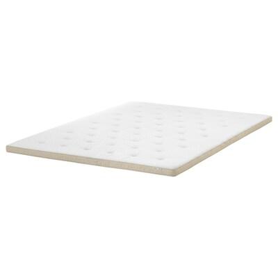 TISTEDAL mattress topper natural 200 cm 150 cm 6 cm