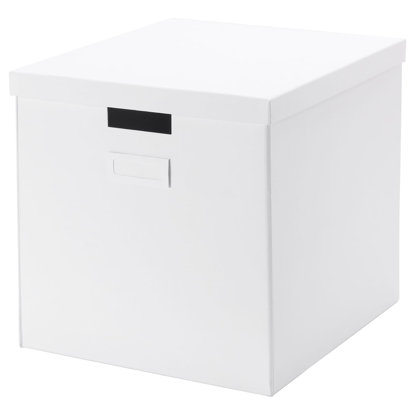 tjena box with lid white 32x35x32 cm ikea. Black Bedroom Furniture Sets. Home Design Ideas