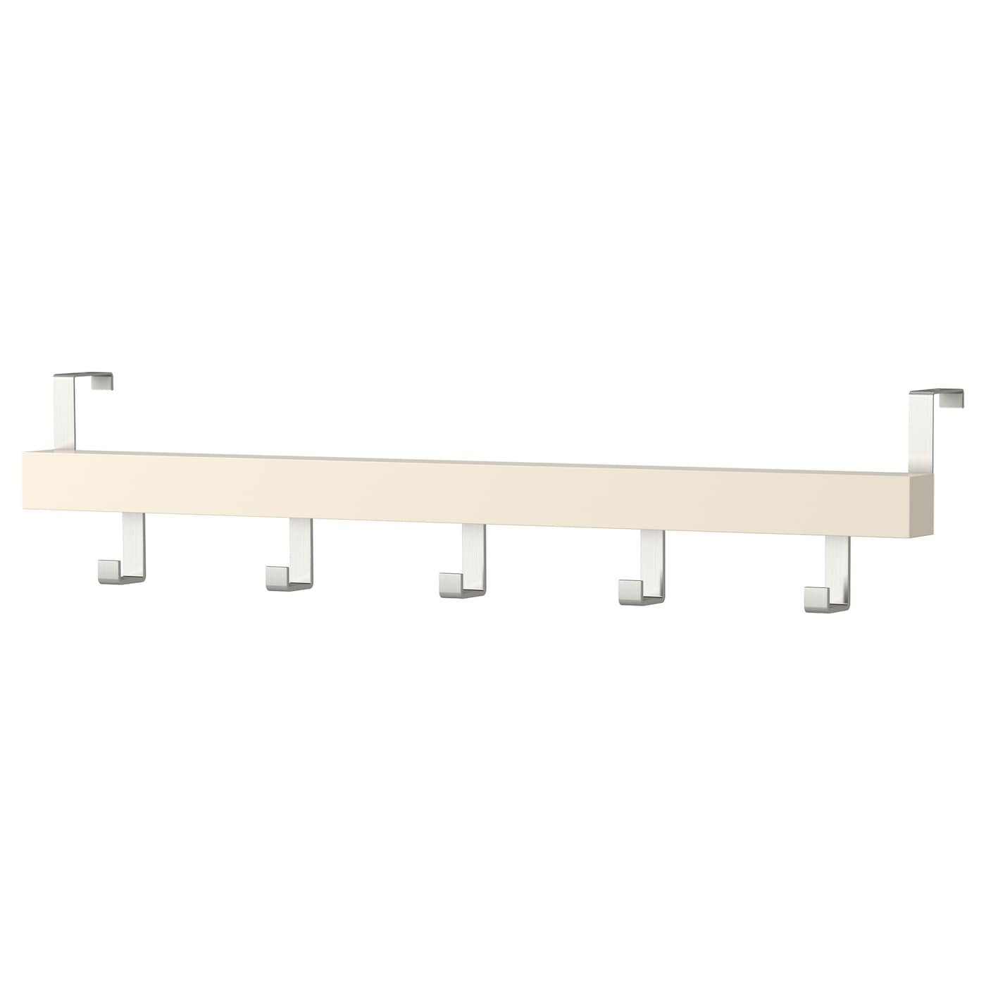 Tjusig hanger for door wall white 60 cm ikea for Ikea belt hanger