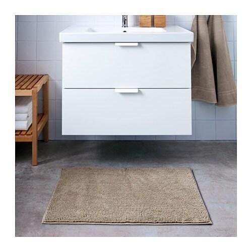 bath mat toftbo beige
