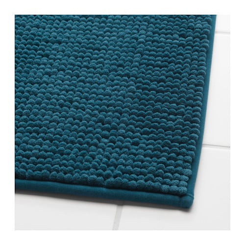 Ikea toftbo bath mat ultra soft absorbent and quick to dry since it s