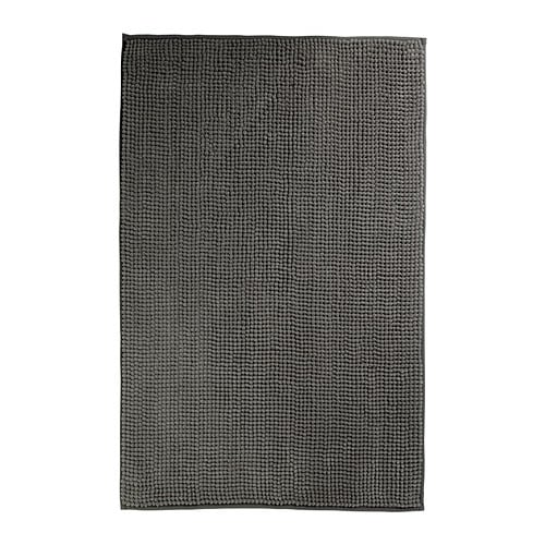 Toftbo bath mat grey 60x90 cm ikea for Pataka bano food mat