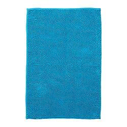 Toftbo Bath Mat Turquoise 60x90 Cm Ikea