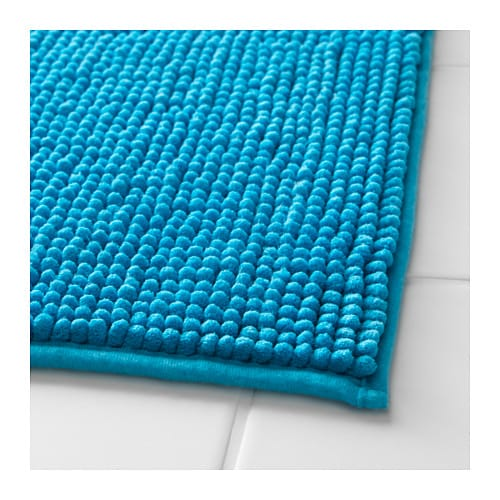 bath mat toftbo turquoise