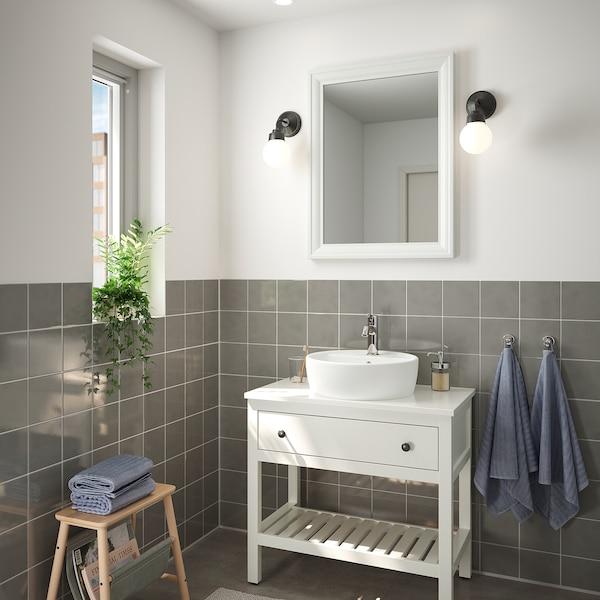 TOFTBYN Mirror, white, 65x85 cm