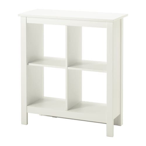 TOMNS Shelving Unit White 81x92 Cm IKEA