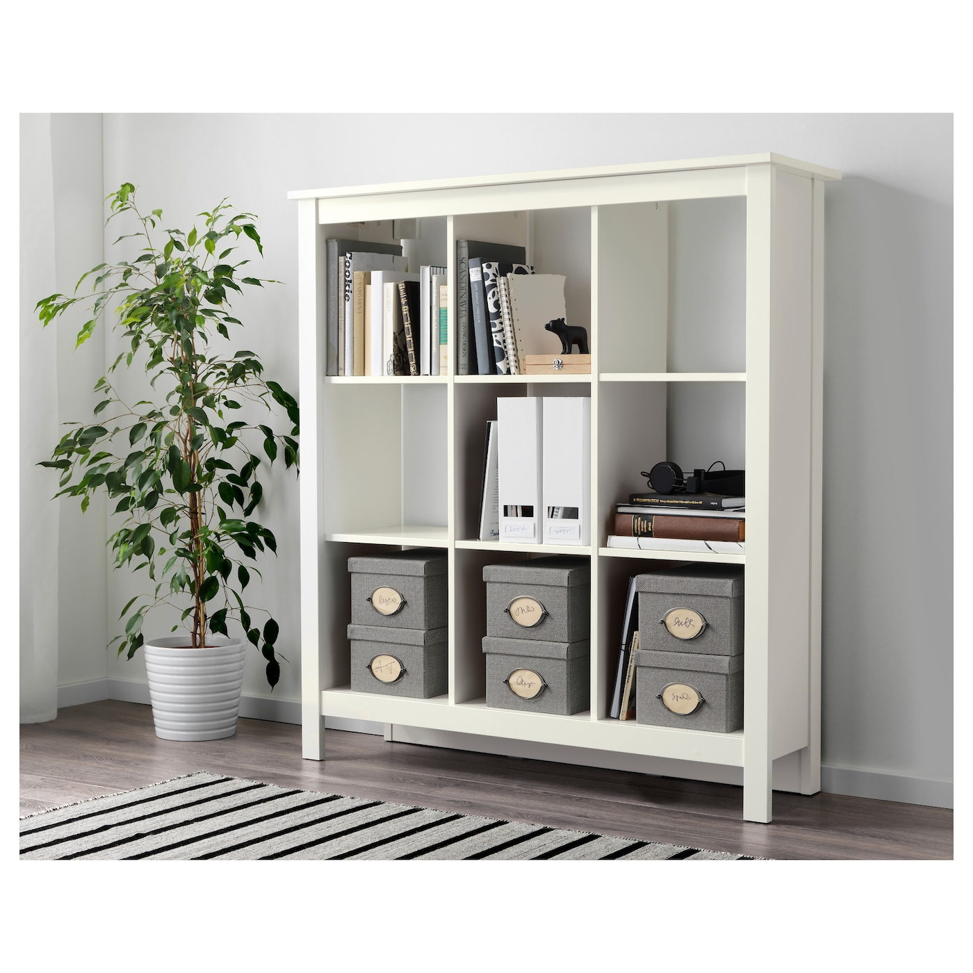 tomn s shelving unit white 116 x 127 cm ikea. Black Bedroom Furniture Sets. Home Design Ideas