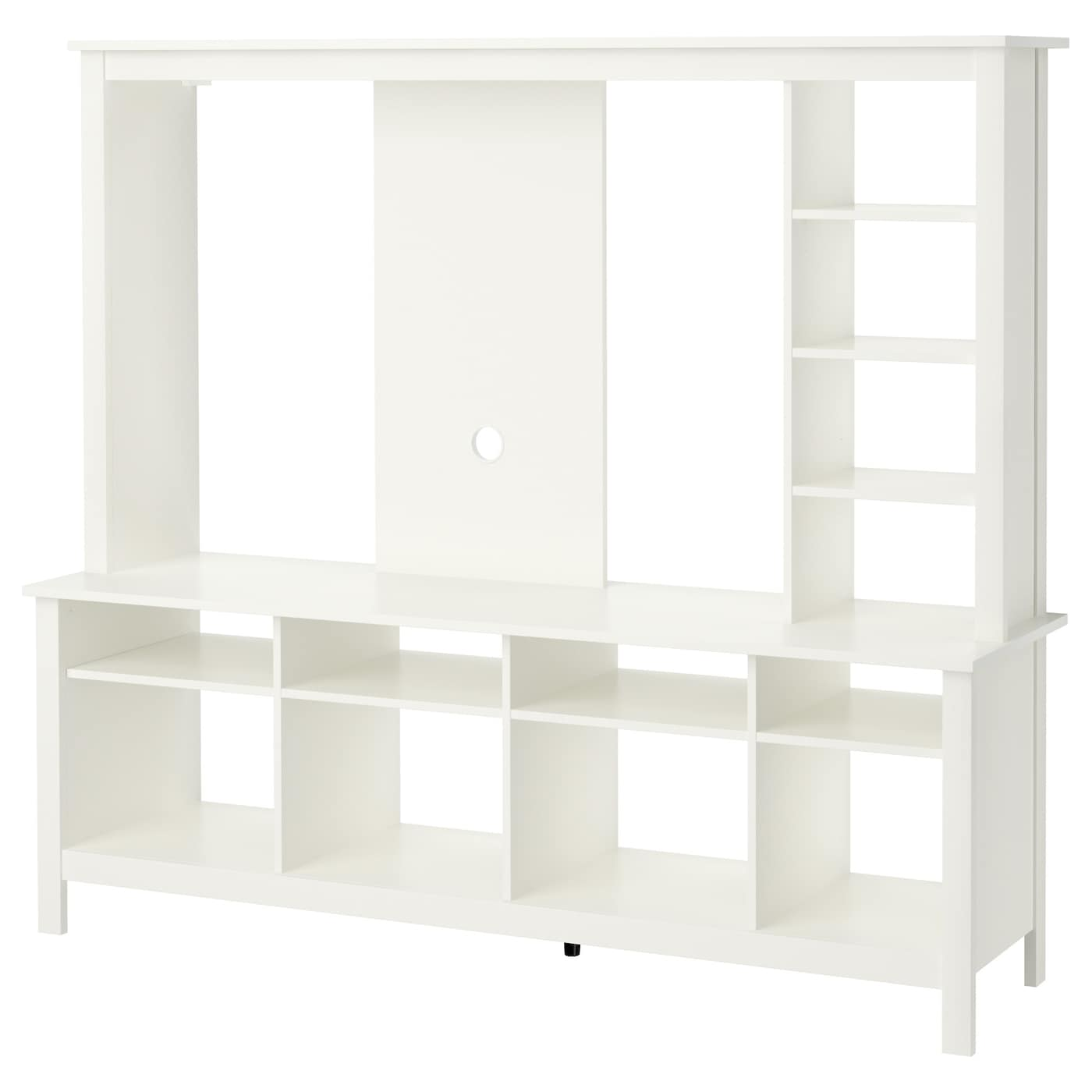 Tomn s tv storage unit white 183x48x163 cm ikea - Ikea tv wand ...