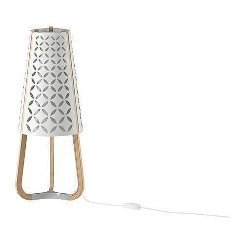 TORNA Table lamp IKEA Gives a soft mood light.