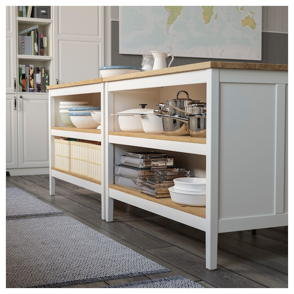 Tornviken Off White Oak Kitchen