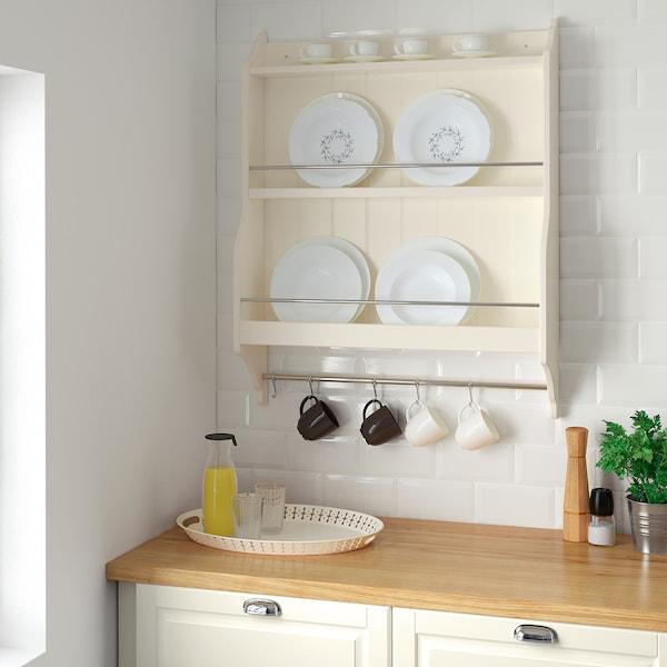 TORNVIKEN Plate shelf, off-white, 80x100 cm