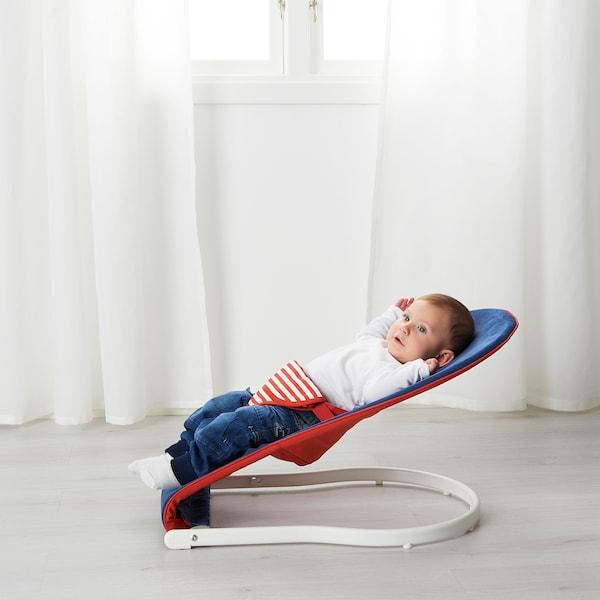 TOVIG baby bouncer blue/red 45 cm 80 cm 36 cm 9 kg