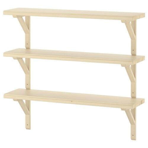 IKEA TRANHULT / SANDSHULT Wall shelf combination