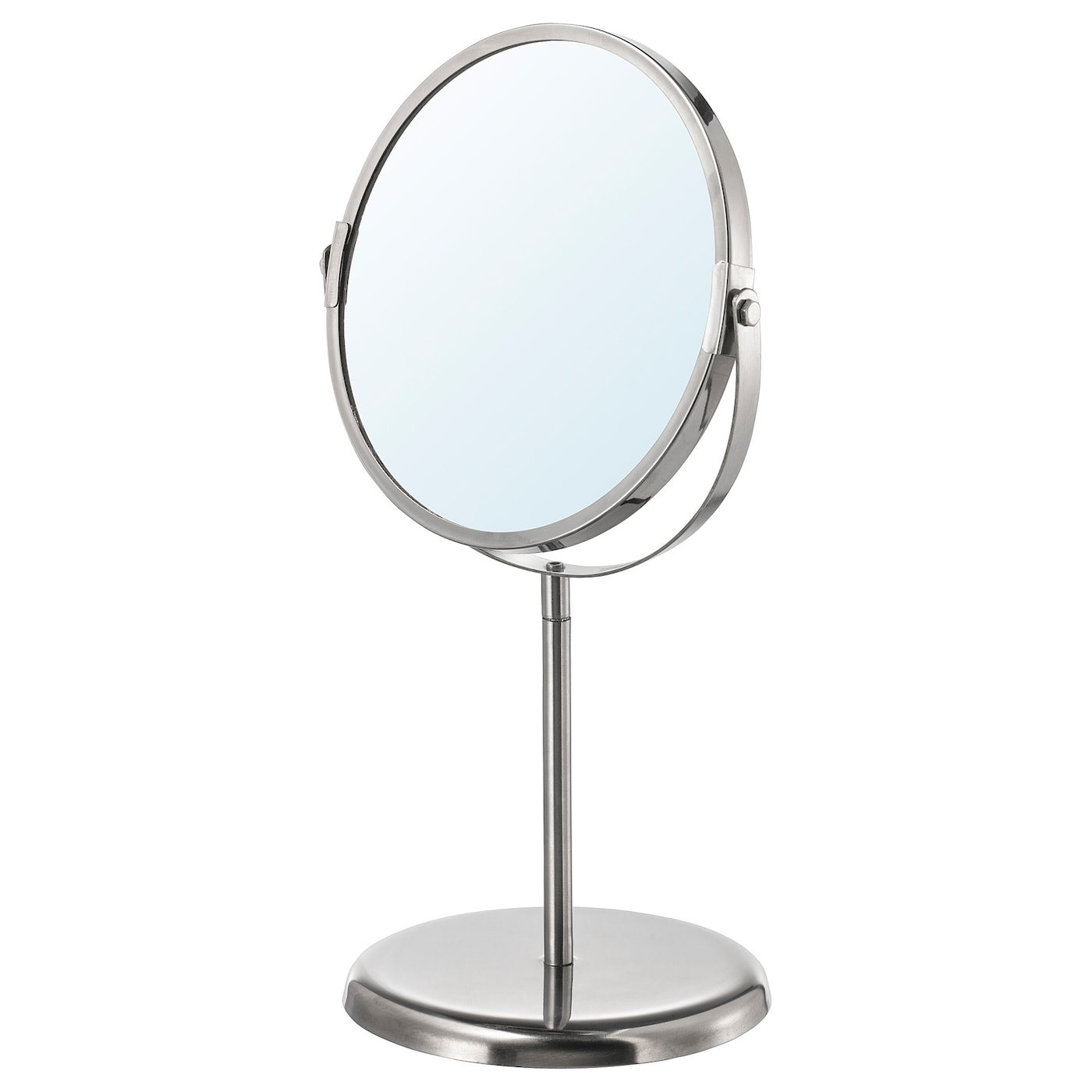 IKEA TRENSUM mirror One side with magnifying mirror glass.