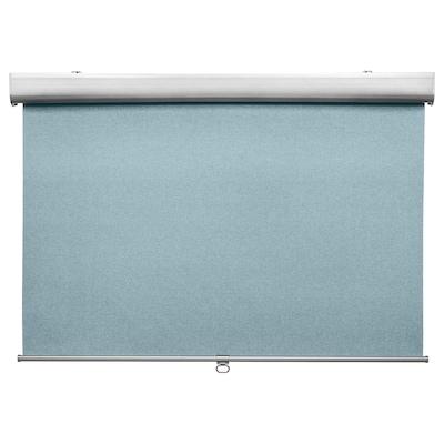 TRETUR block-out roller blind light blue 80 cm 83.4 cm 195 cm 1.56 m²