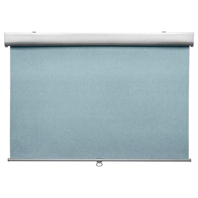 TRETUR block-out roller blind light blue 100 cm 103.4 cm 195 cm 1.95 m²