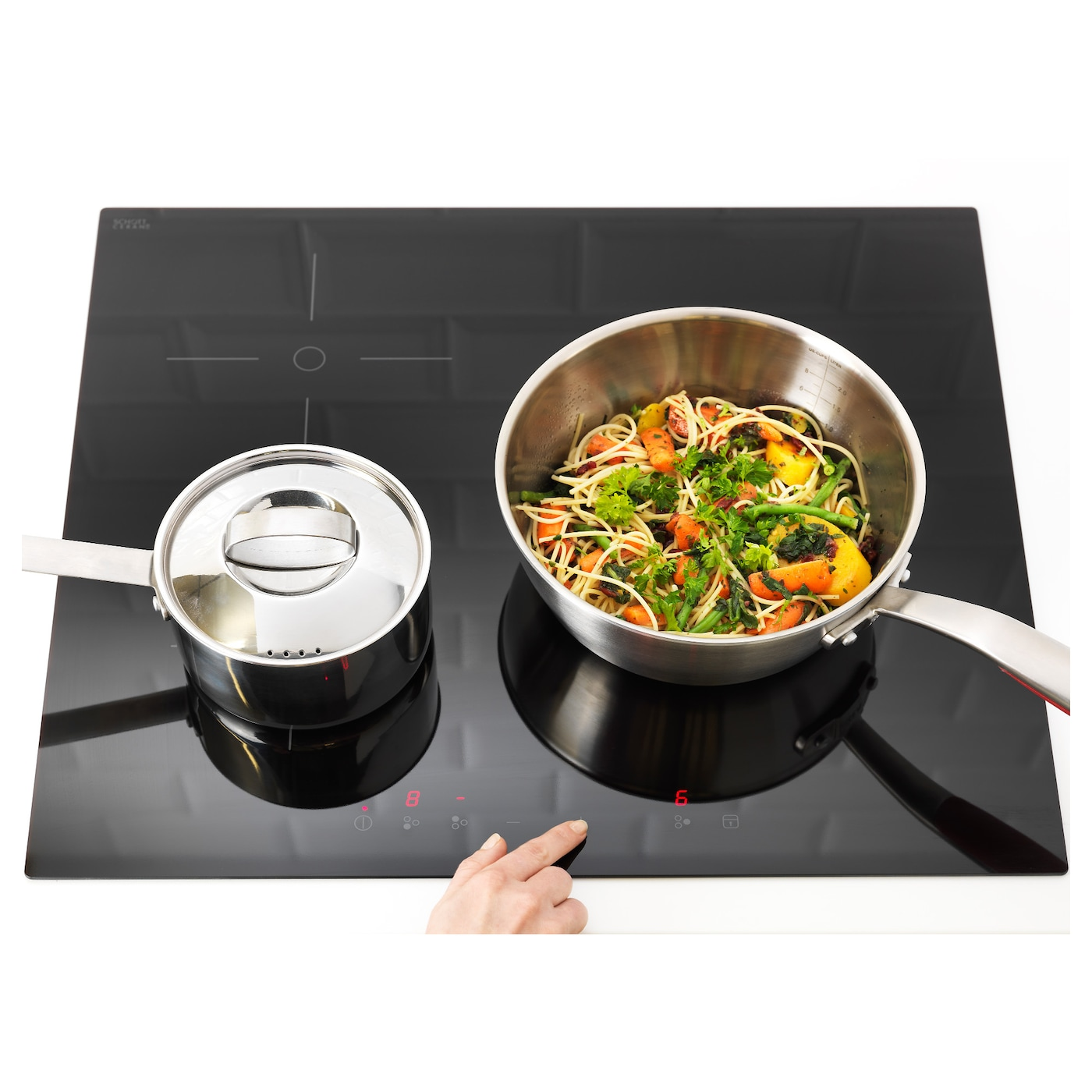IKEA TREVLIG induction hob 5 year guarantee. Read about the terms in the guarantee brochure.