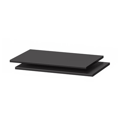 TROFAST Shelf, black